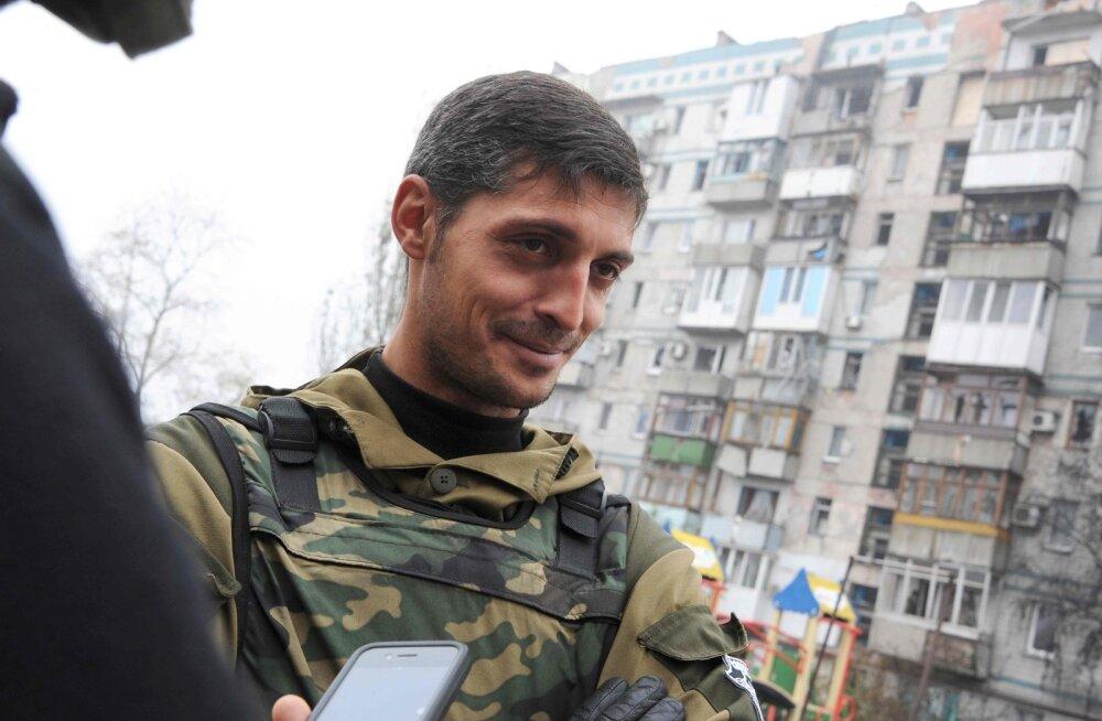 Donetski rahvavabariigi juht Zahhartšenko kinnitas välikomandör Givi hukkumist