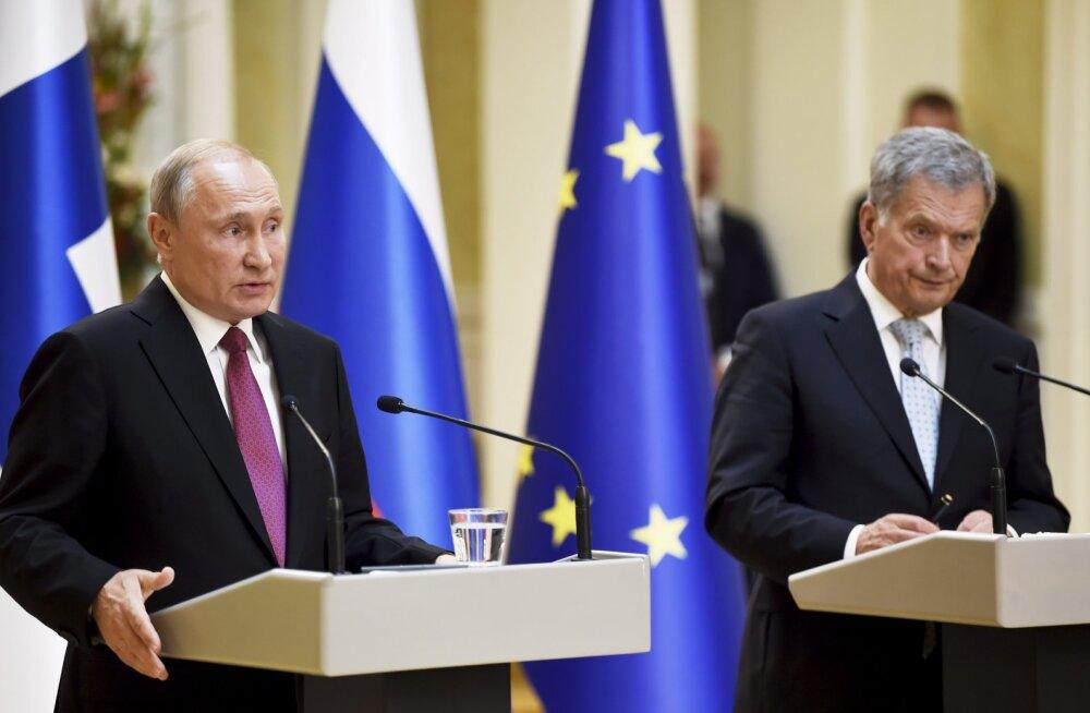 Soome ekspert: Putin sai Helsingis vabalt oma sõnumit levitada, Niinistö vastu ei vaielnud