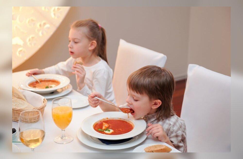 Väikelapse toiduvalik mõjutab aju arengut ja lapse hilisemat arukust