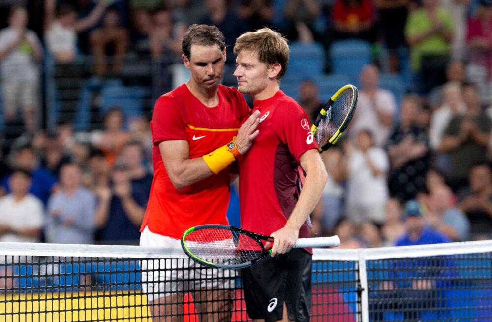 Rafael Nadal ja David Goffin