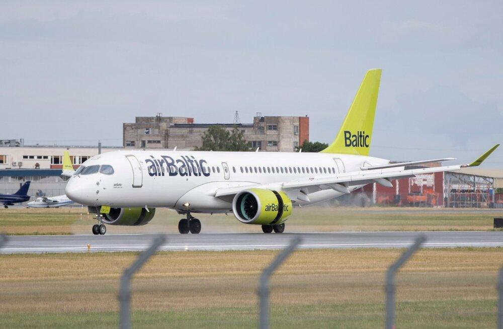 Авиакомпания airBaltic создала филиал в Литве для запуска прямых рейсов в Киев