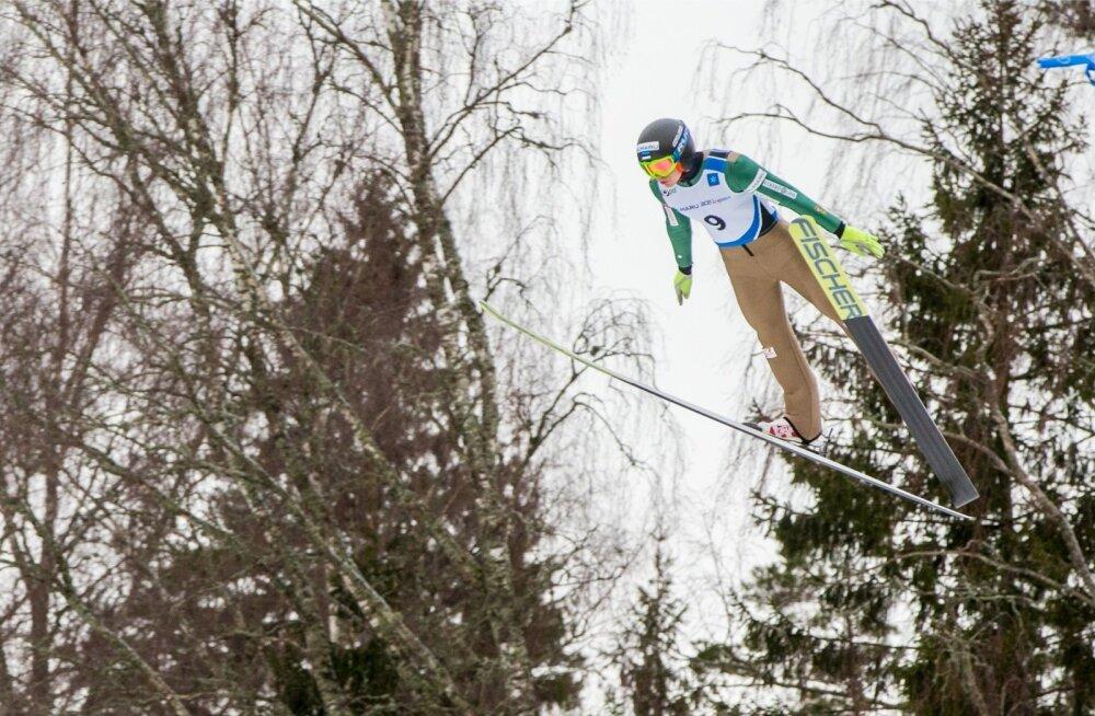 Kahevõistluse FIS Continental Otepääl suusahüpped