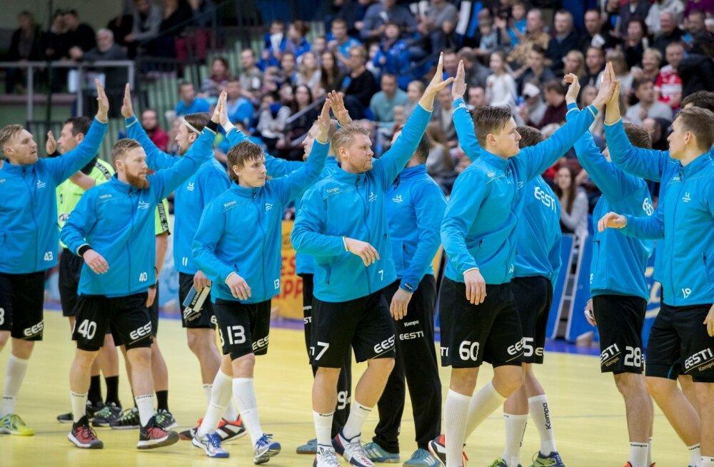 Käsipall Eesti-Šveits
