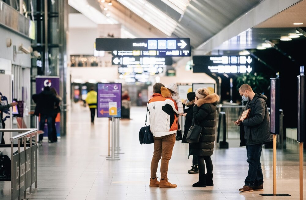 Пассажиропоток Таллиннского аэропорта упал до уровня 2003 года