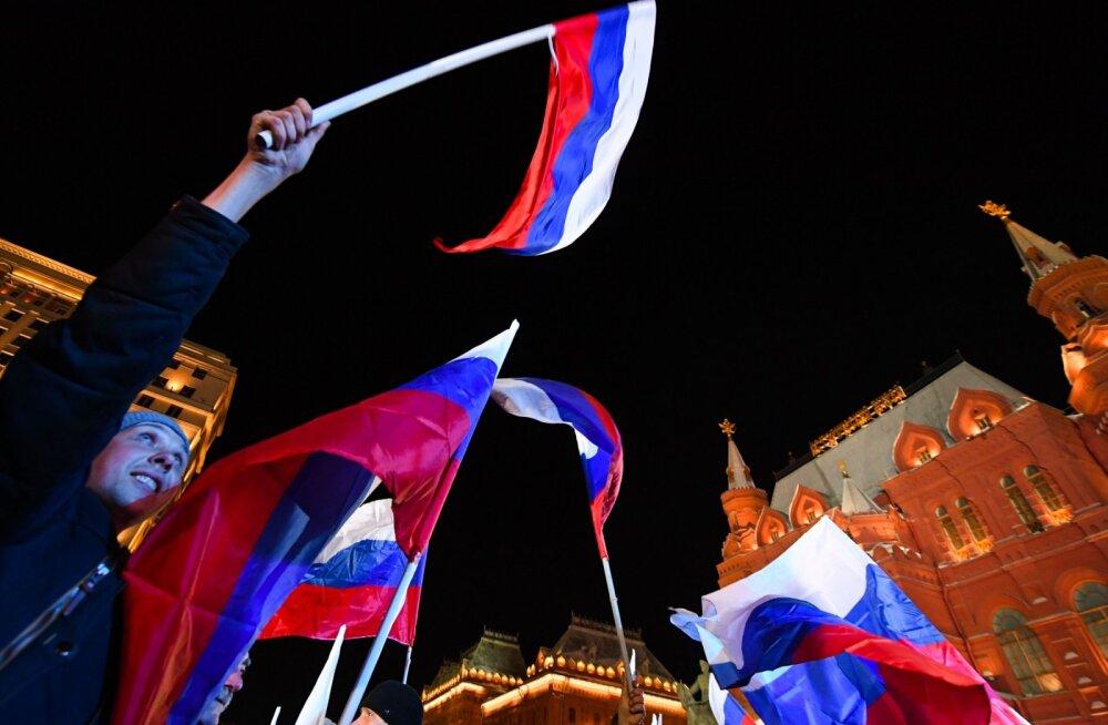 ФОТО, ВИДЕО и БЛОГ: В России завершилось голосование на выборах президента