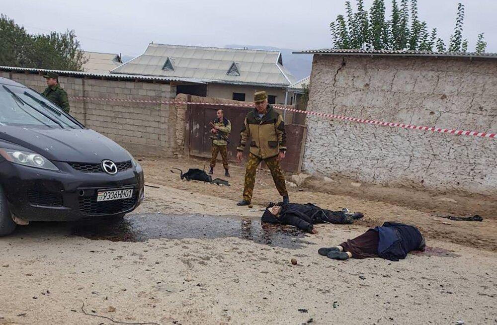 Islamiriigi võitlejad Afganistanist ründasid Tadžikistani piirivalvureid, 15 džihadisti tapeti
