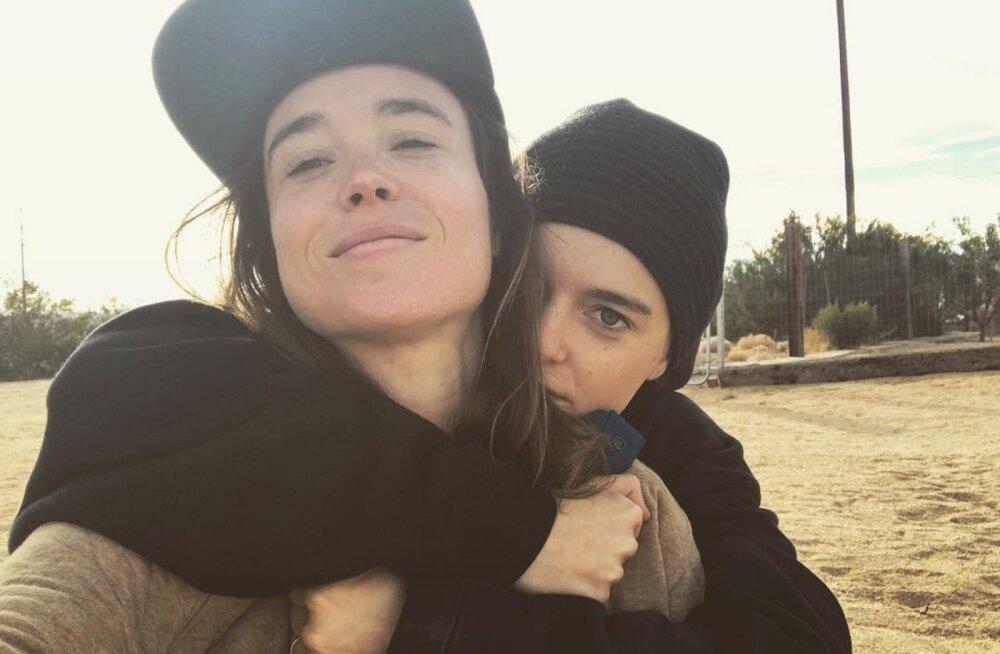 FOTOD | Näitlejanna Ellen Page sõudis koos oma tüdruksõbraga abieluranda
