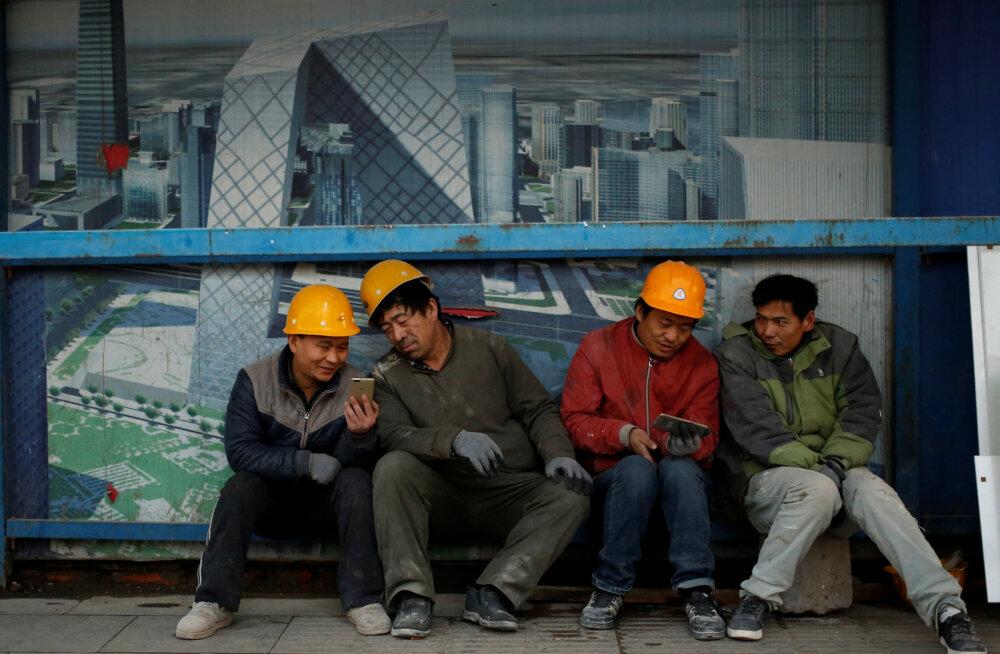 Hiinlased matavad kümneid miljardeid uue põlvkonna mobiilivõrkudesse