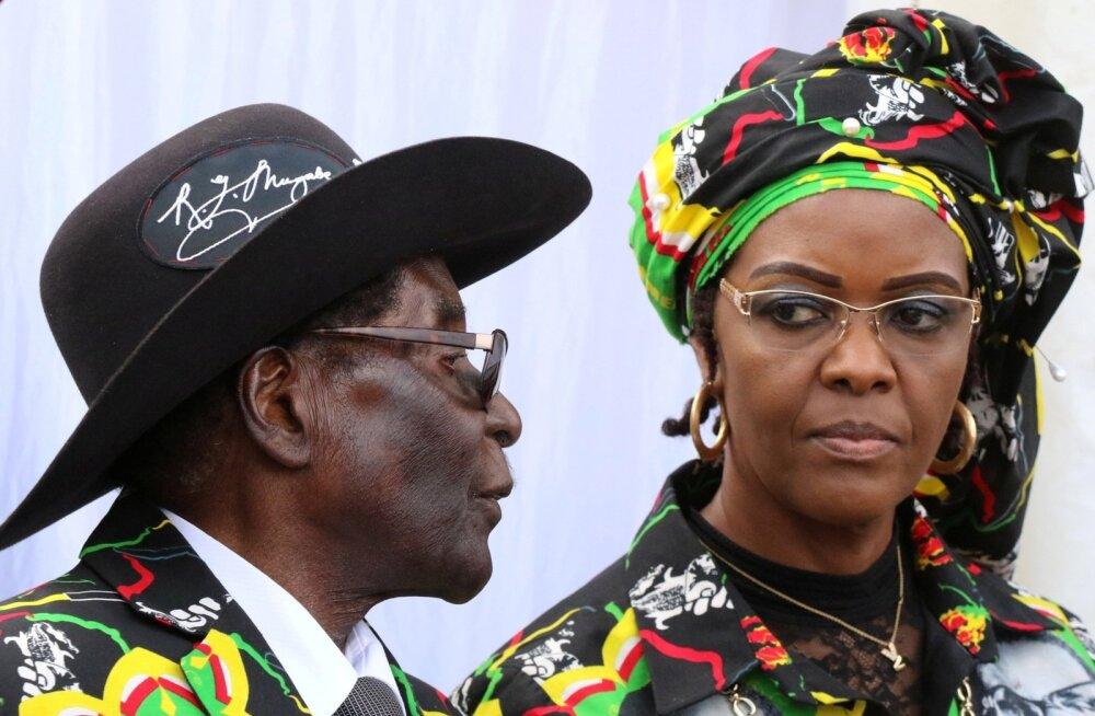 Robert ja Grace Mugabe