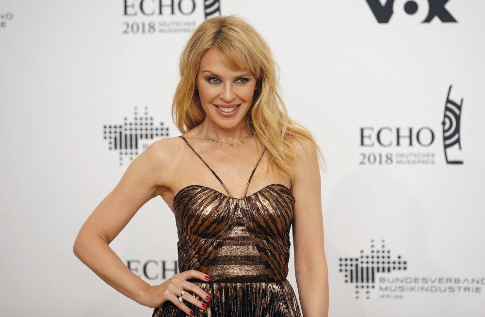 Oh õudu! Kylie Minogue oli sunnitud ahistajale politsei kutsuma