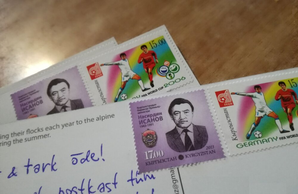 RÄÄGI KAASA   Kui kaua reisivad kodumaale läkitatud postkaardid (ja kumb jõuab enne, sina või kaart)?