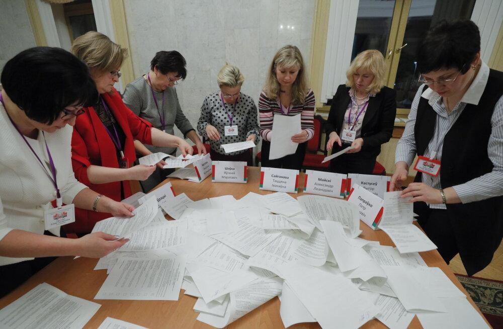 OSCE: Valgevene valimised ei olnud kooskõlas demokraatlike standarditega