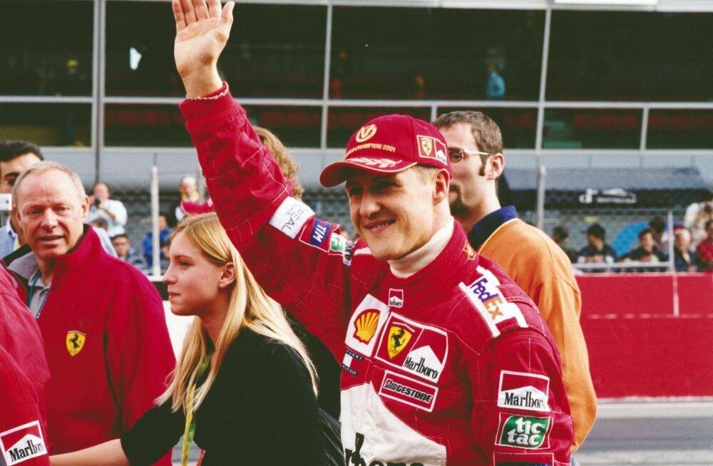 Michael Schumacher veetis kõige edukamad aastad Ferraris.
