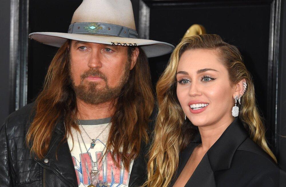 Miley Cyrus koos isa Billy Ray Cyrusega