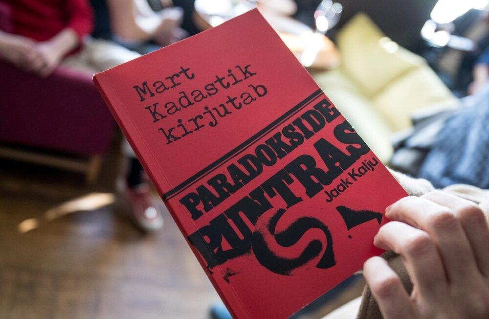 """Juku-Kalle Raid esitles Mart Kadastiku raamatut """"Paradokside puntras"""""""