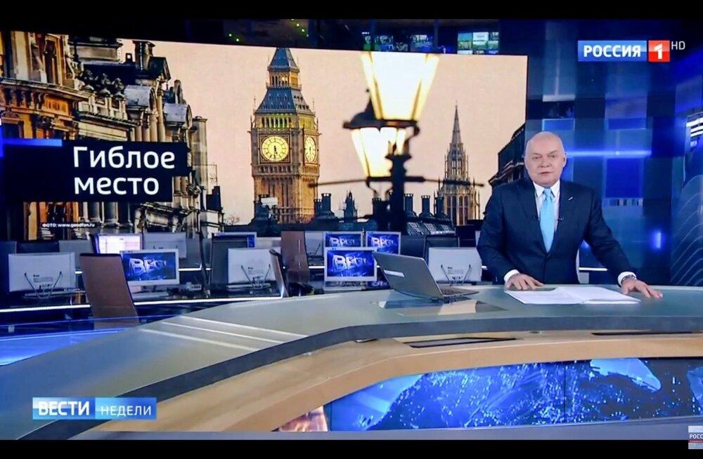 Ukraina julgeolekuteenistus saatis riigist välja Vene telekanalite korrespondendid