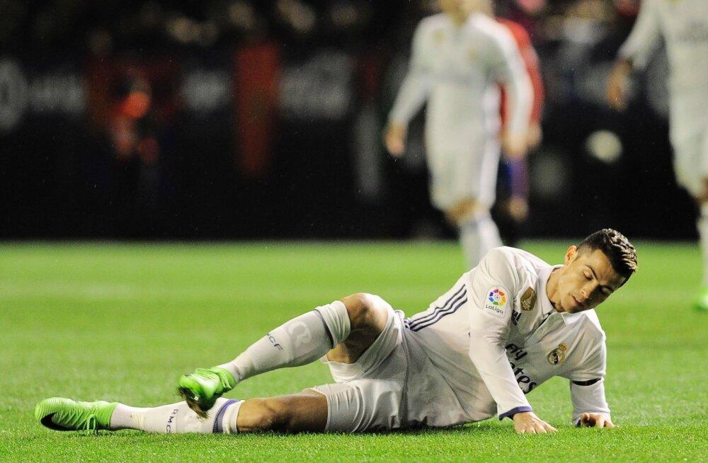 Ronaldo jättis tähtsa euromängu eel treeningu vahele