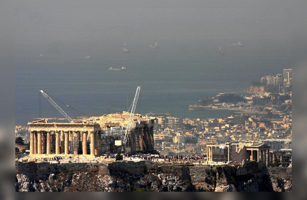 Ateenat raputas mõõdukas maavärin