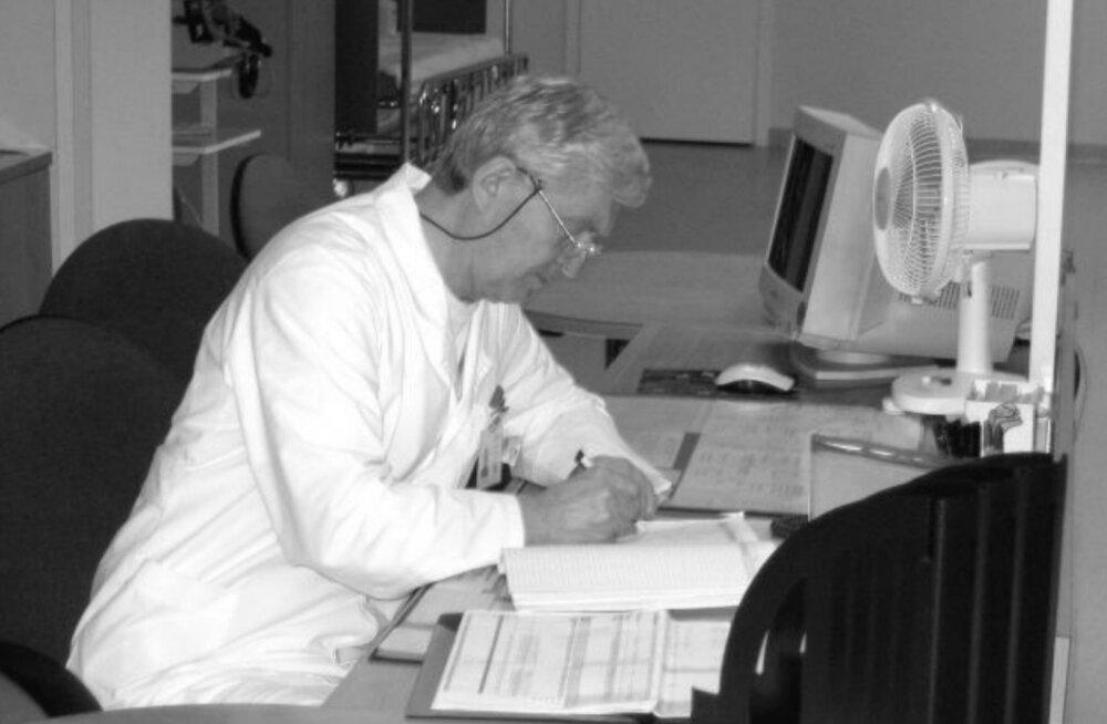 40-aastase staažiga arst jäi võitluses koroonaviirusega kaotajaks. Kolleeg viimasest kõnest: oli kuulda, et rääkida on raske