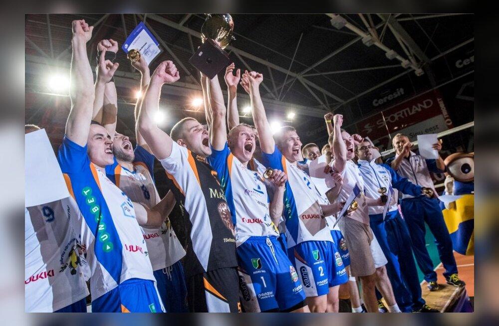 4f113a2c1ad FOTOD: Naiste võrkpalli karikafinaali võitis TTÜ, meeste tiitli ...