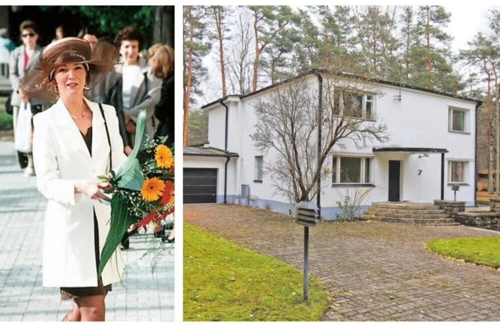FOTOD | Maja Nõmme mändide all: ärinaine Mai Kaarepere paiskas kodu müüki!