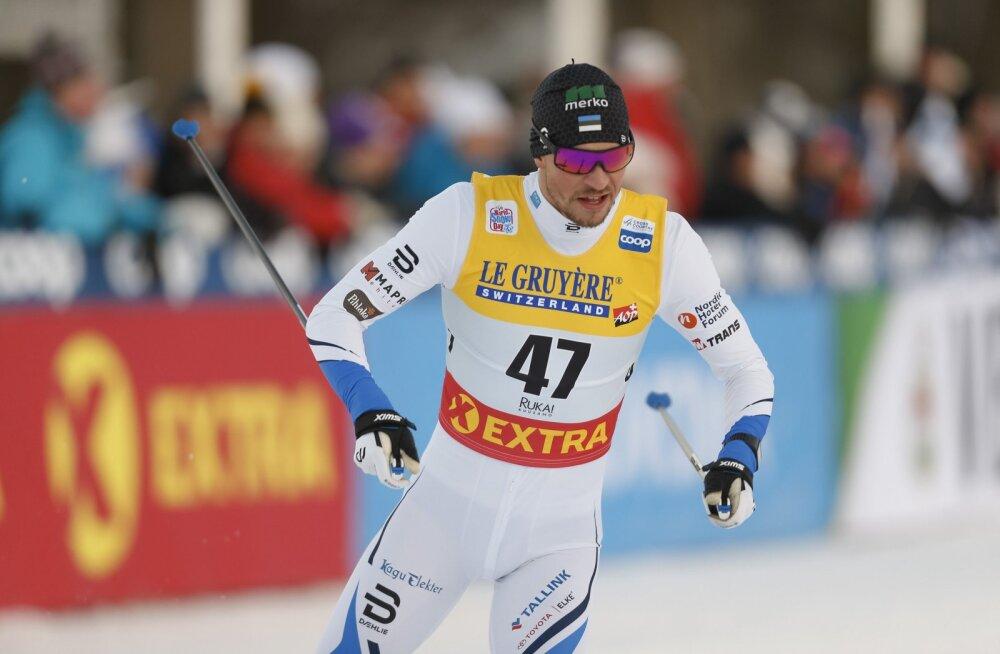 Eesti suusasprinterid piirdusid taas eelsõiduga, Kristjan Ilves langes murdmaal 34. kohale