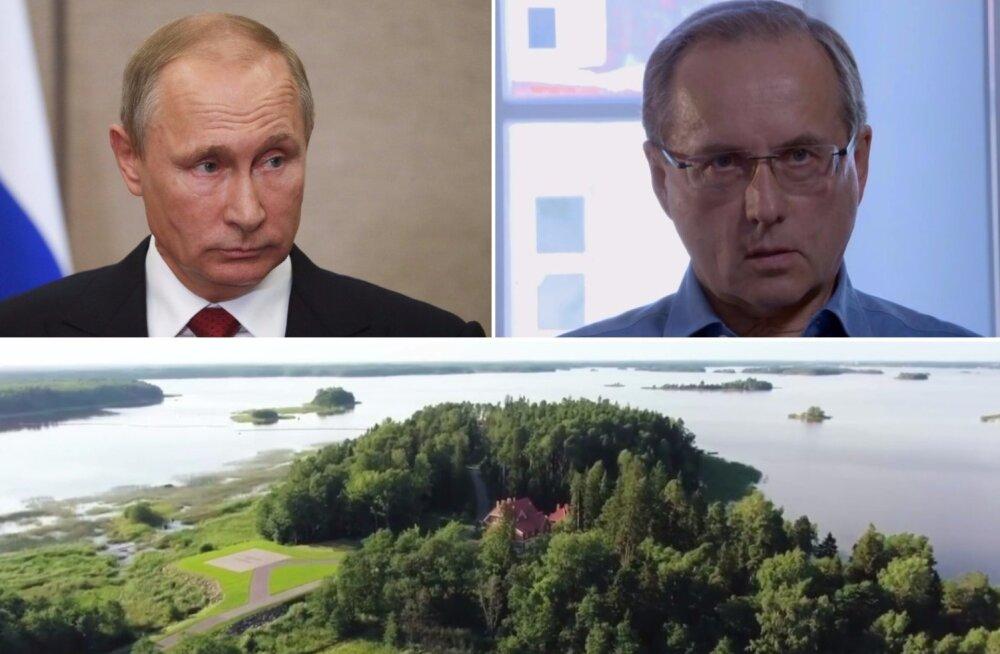 ВИДЕО: Навальный рассказал о связи проживающего в Эстонии бизнесмена с новой секретной дачей Путина