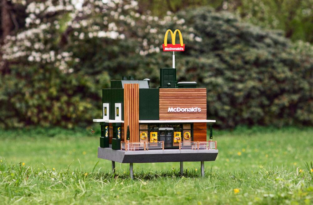 Vaata, milline näeb välja maailma väikseim McDonald'si burgeriputka
