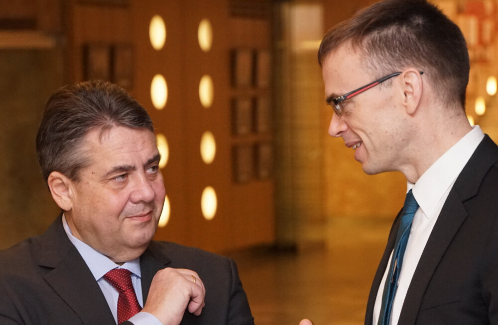 Sigmar Gabriel ja Sven Mikser