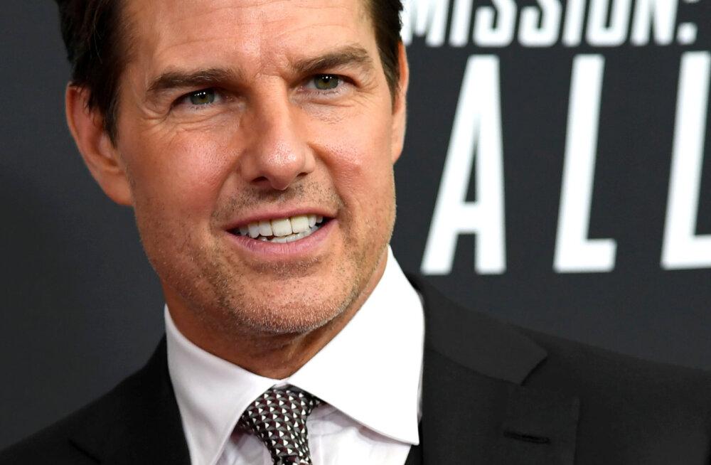 Tom Cruise evakueeriti filmivõtetelt: see on kõrge riskiga piirkond