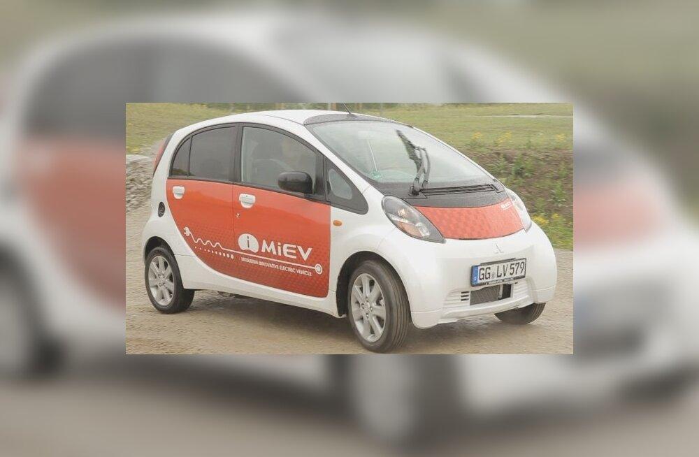 Mitsubishi i-MiEV on soodsaim elektriauto Eestis
