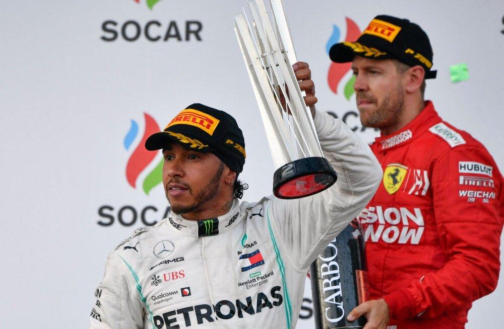 Mercedese juht ei välista Lewis Hamiltoni ja Sebastian Vetteli omavahelist võistkondade vahetust