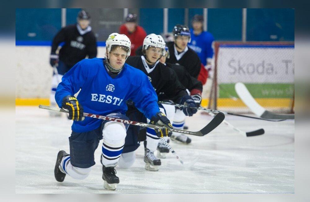 Eesti hokikoondise treening