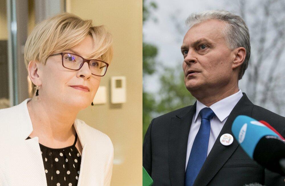 FOTOD | Leedu presidendiks valitud Gintanas Nausėda lubas pehmemat retoorikat Venemaa suhtes