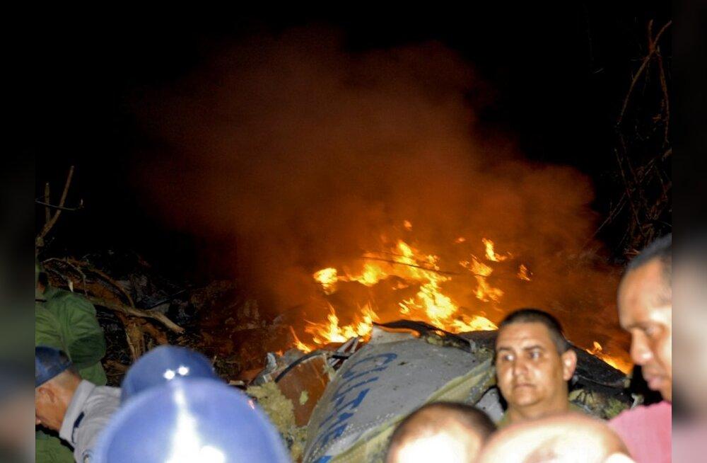 Kuuba lennuõnnetuses sai surma 68 inimest