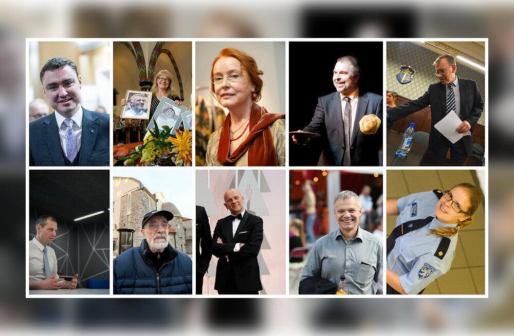 Президент Эстонии Керсти Кальюлайд наградит знаками отличия 113 человек
