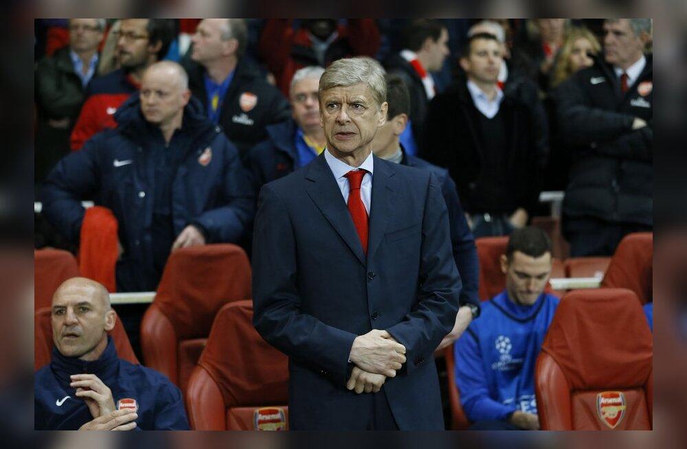 Wenger: pettumus kuulub meeskonna arengu juurde