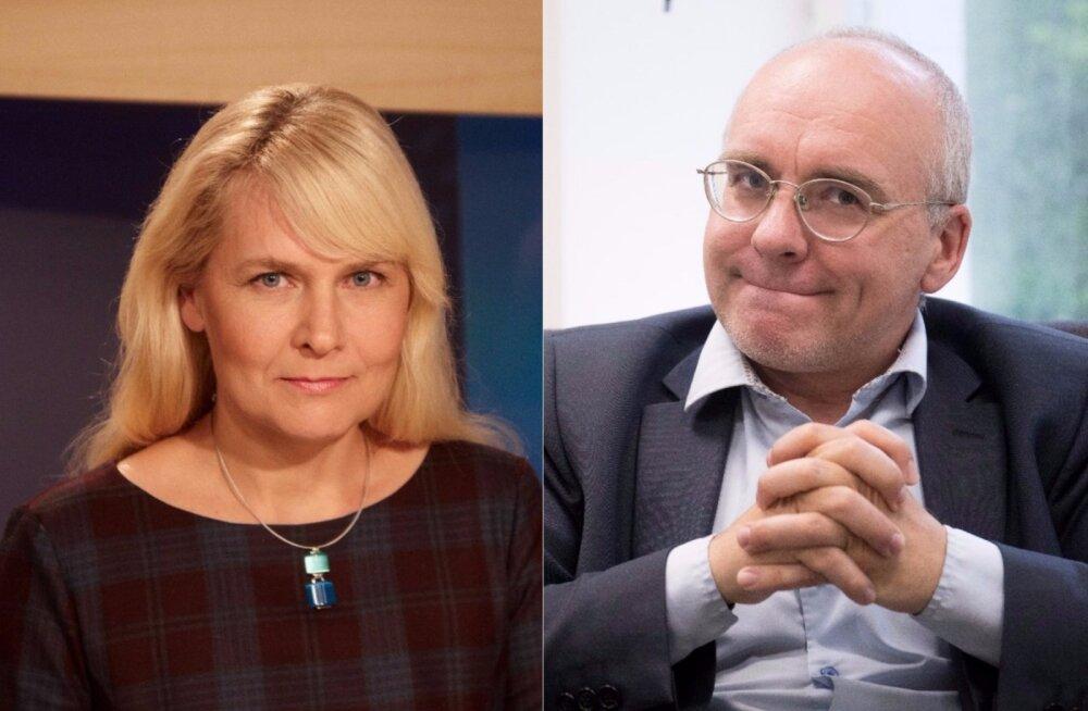 """""""AK"""" uudisteankur Astrid Kannel otse-eetris Erik Roosele: te olete suur juht, te pole aru saanud, et nädalaid on asi halb?"""