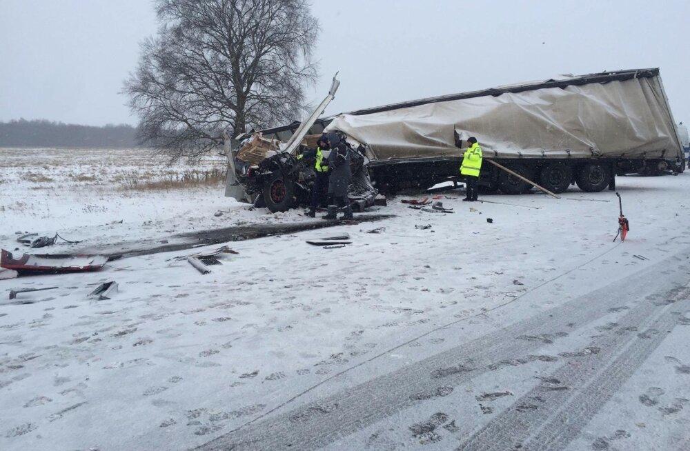Tallinna ringteel juhtus avarii