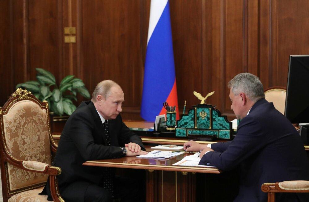 Venemaa kaitseminister: allveelaevaõnnetuse põhjustas põleng akusektsioonis