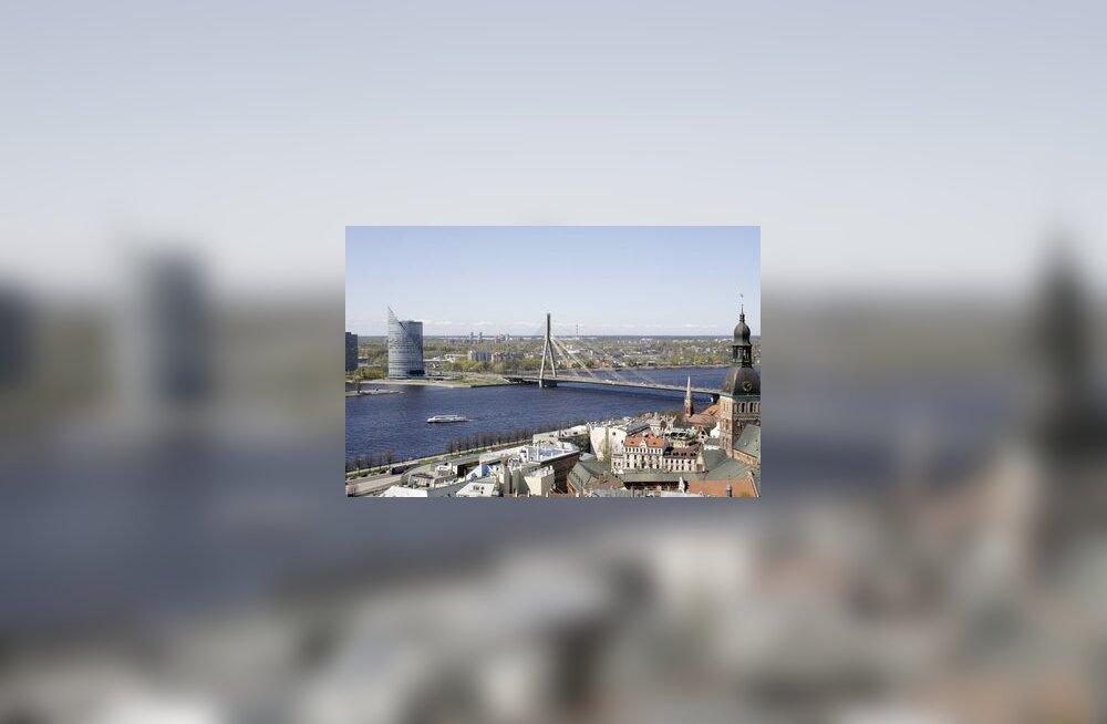 Riia, Riga, Läti, vanalinn, Daugava