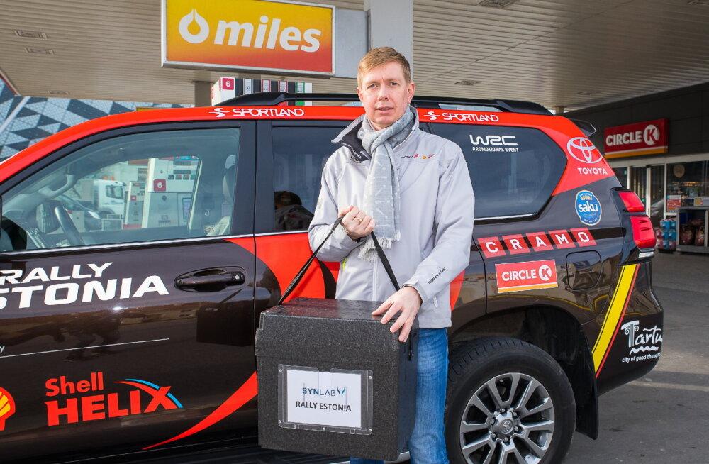 Rally Estonia korraldajad tõttasid koroonaviiruse testijatele appi