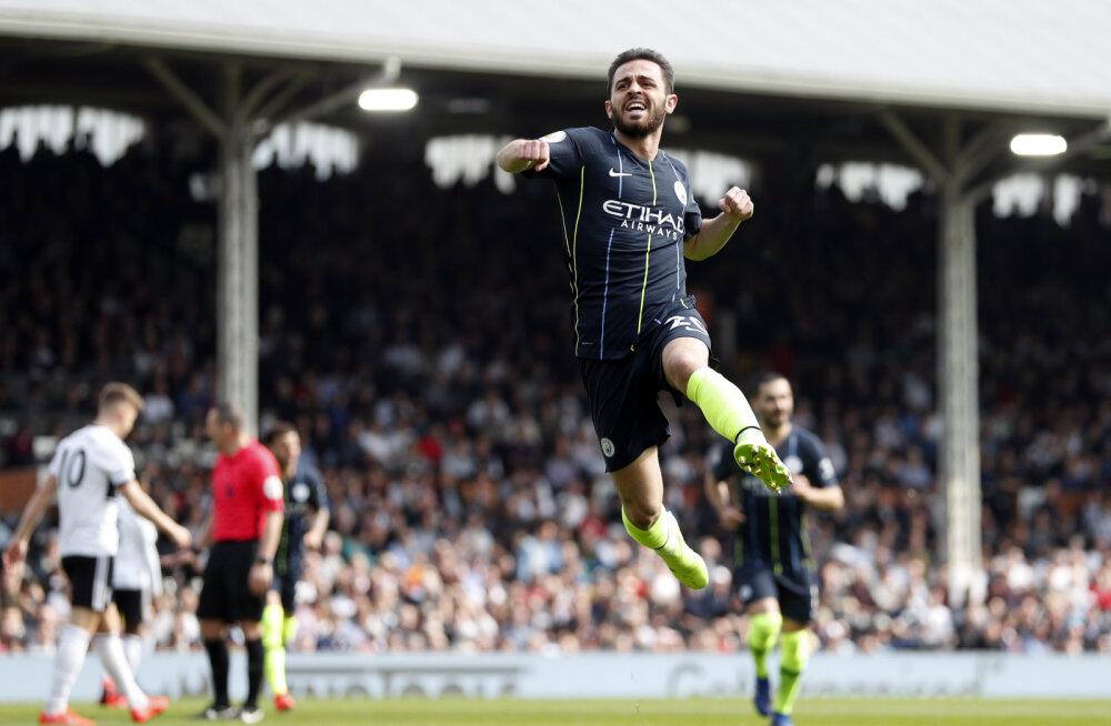 Käidi koduklubi ei saanud hooaja rekordi püstitanud Manchester Cityle üldse vastu