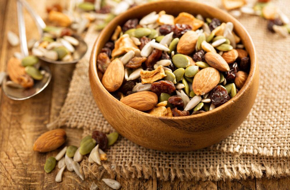 Seemned - kõrgekvaliteediline, toitev ja vitamiinirikas suupiste