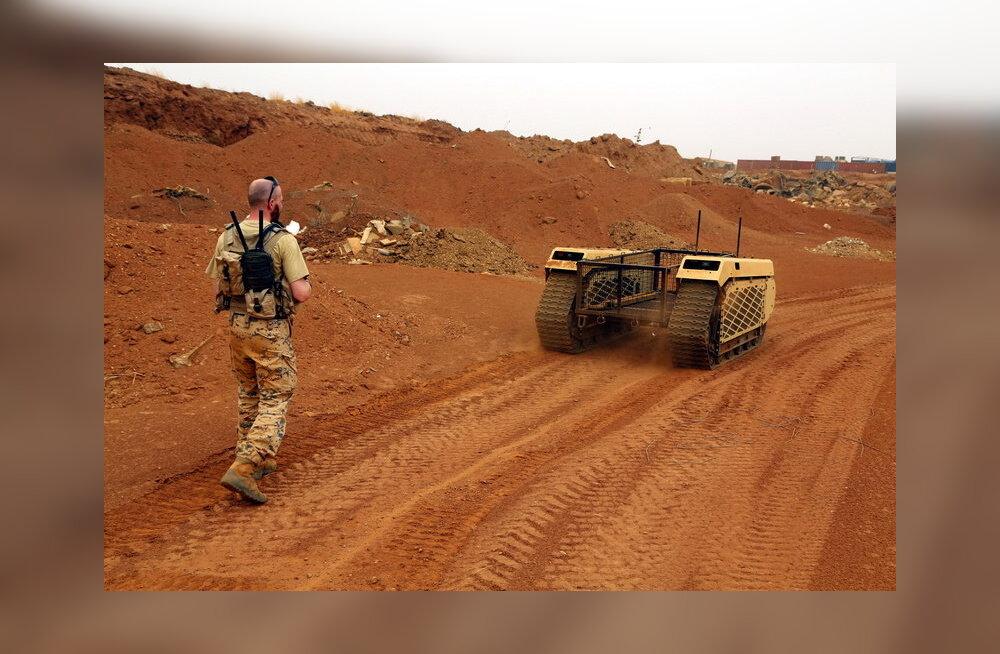 Eesti kaitseväe mehitamata maismaasõidukid Mali operatsioonil