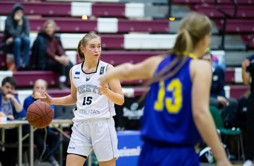 Eesti naiste korvpalli säravaim tulevikulootus siirdub Arizona ülikooli