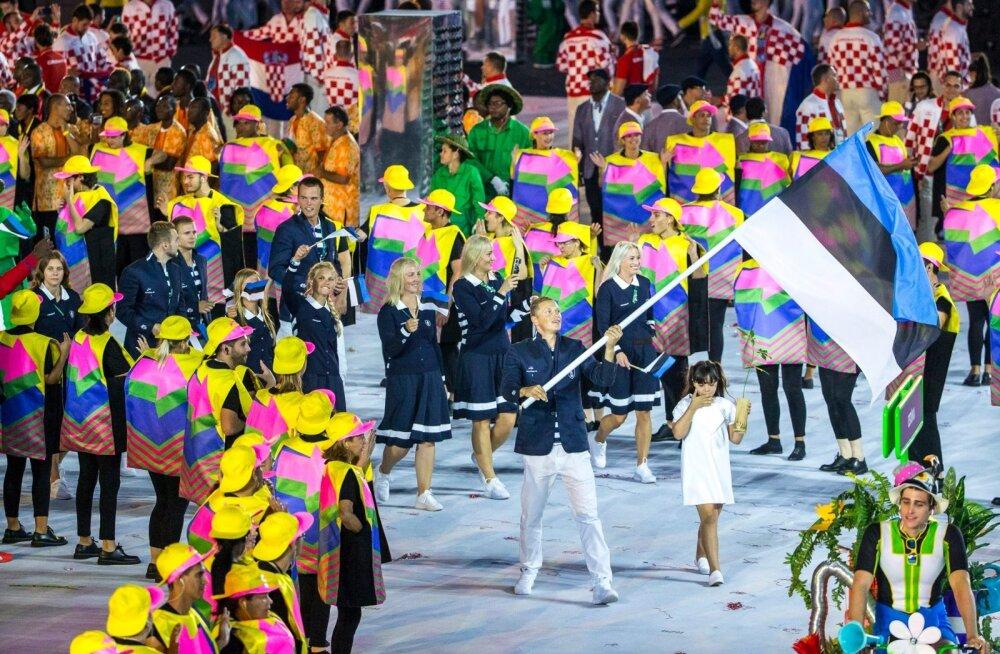 Eesti oli Rio de Janeiro olümpial arvukalt esindatud, kuid võideti ainult üks pronks.