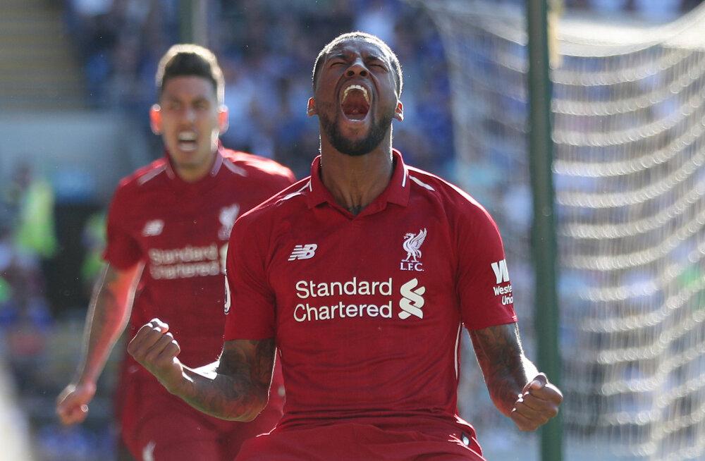 Liverpool tõusis tagasi liidriks, Arsenal sai üllatuskaotuse