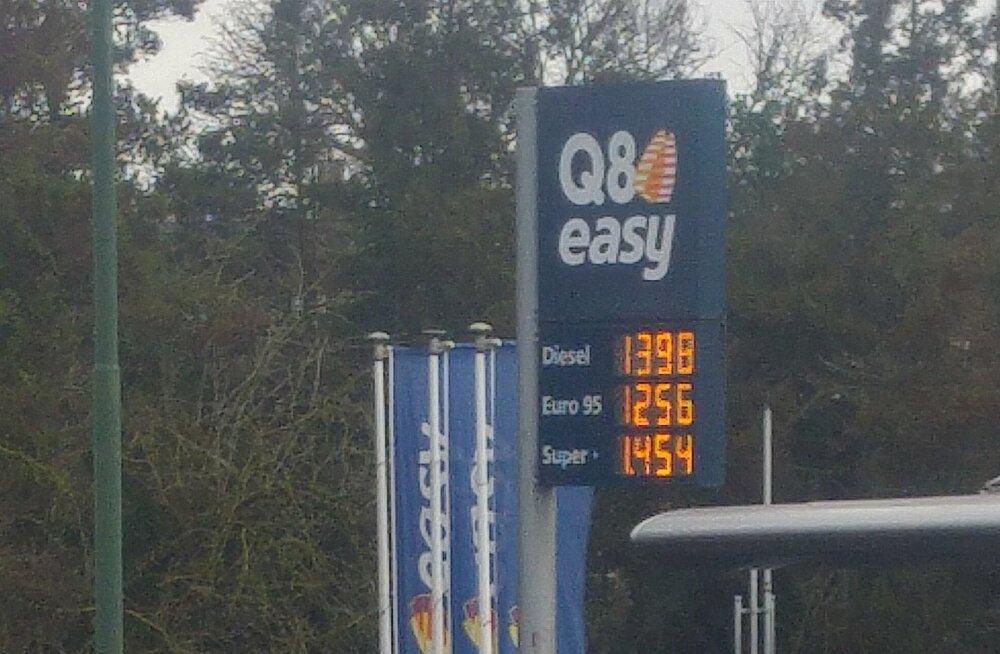 Kütuse hind Brüsselis
