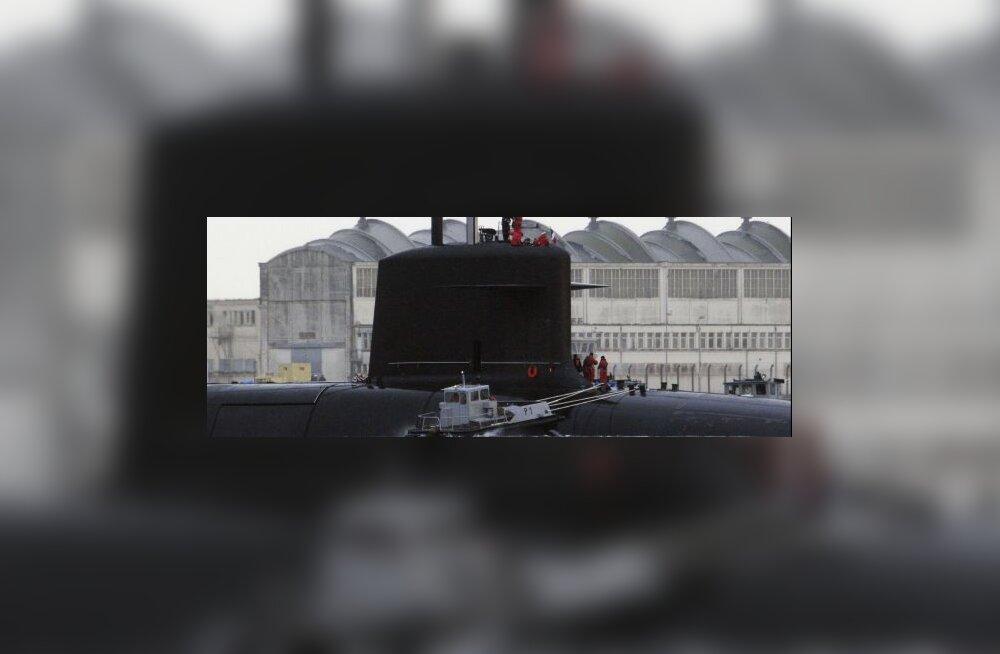 Briti ja Prantsuse allveelaevad põrkasid kokku
